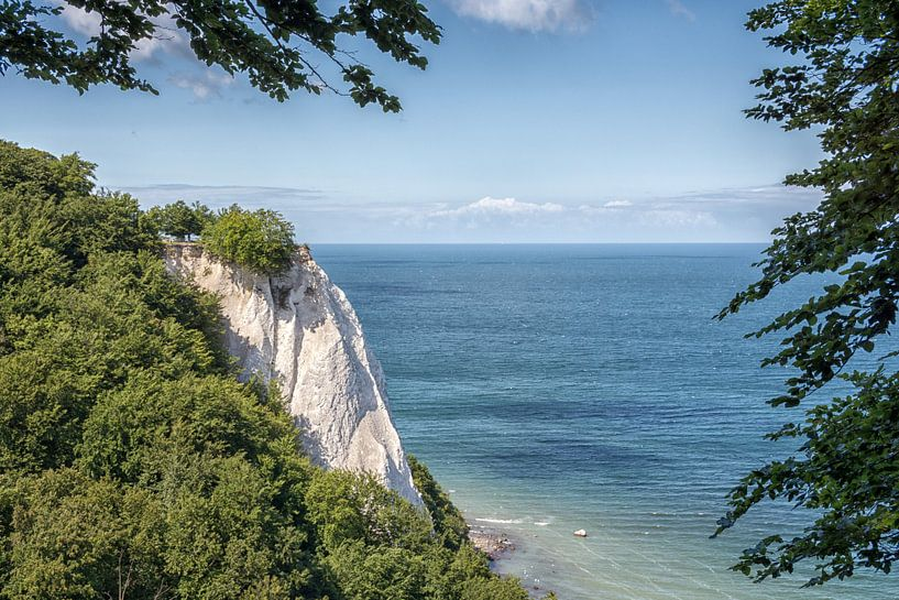 Königsstuhl, krijtrotsen krijtkust eiland Rügen van Mirko Boy