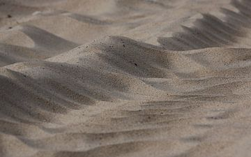 Zand patroon van MSP Canvas