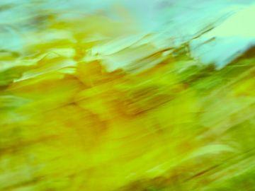 Sonnenblumen im Wind 3 von Andreas Gerhardt