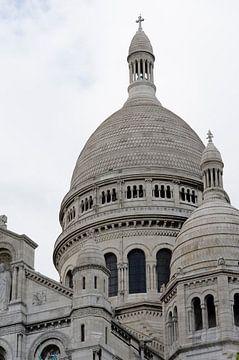 Detail van de Sacré Coeur. van Sean Vos