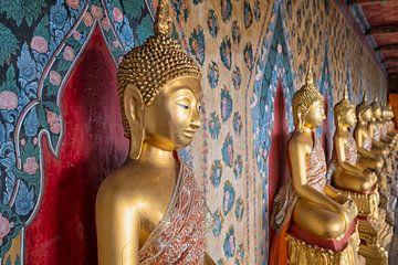 Statue de Bouddha en or sur Bernd Hartner