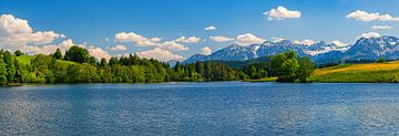 Panorama foto uit zuid Duitsland van Henk Meijer Photography