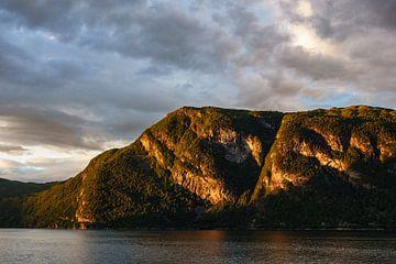 View to the Storfjord in Norway van