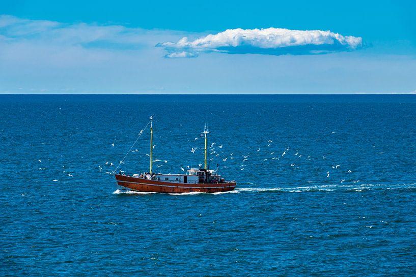 Ein Fischerboot auf der Ostsee von Rico Ködder