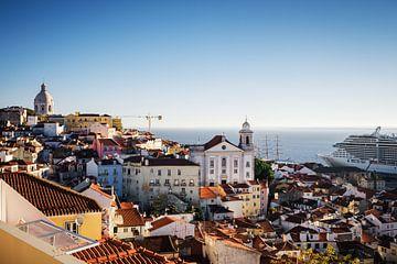 Lissabon Skyline von Alexander Voss