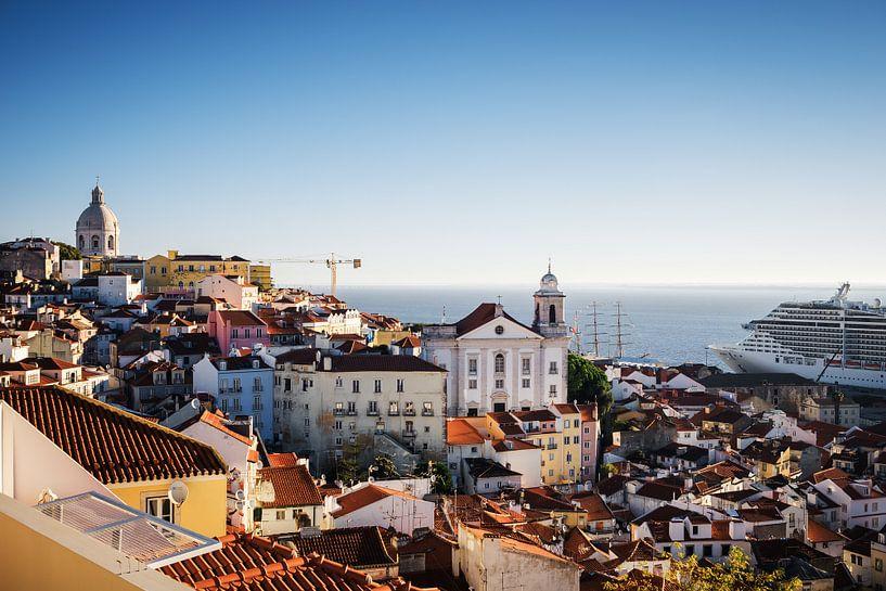 Lisbon - Skyline van Alexander Voss