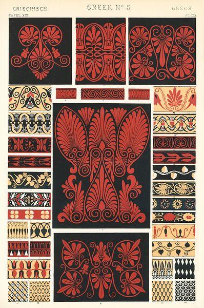 Owen Jones' berühmte Ornament-Grammatik des 19. Jahrhunderts von 1000 Schilderijen