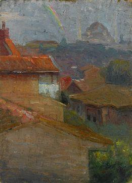 Huseyin Avni Lifij (Turkish, 1886-1927)~Landschap