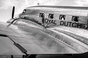 Beroemd vintage vliegtuig KLM Douglas DC-2 Uiver van Arjan van de Logt