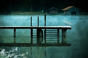 Jetty at the Griessee