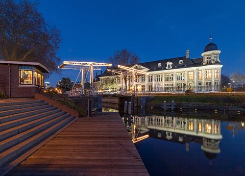 Gebäude der Königlichen Münzanstalt Utrecht und Abel Tasman Brücke von André Russcher