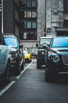 Luxury Line up London van