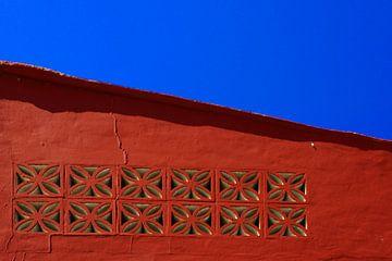 Rood en Blauw  van Jo Miseré