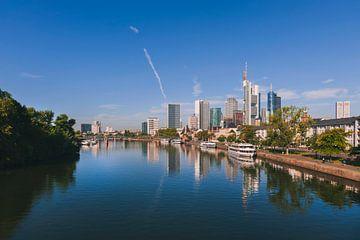 Skyline von Frankfurt am Main von Anouschka Hendriks
