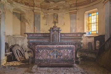 Altar coloré sur