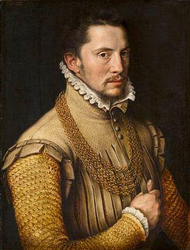Portret van een man, Anthonis Mor van Dashorst sur