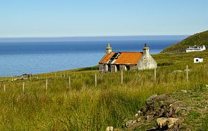 Landschaft bei Melvaig in Schottland