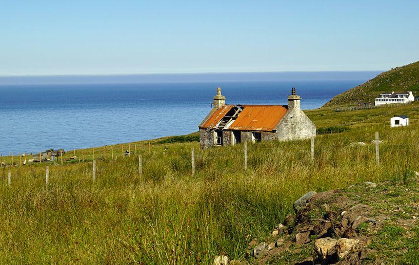 Landschaft bei Melvaig in Schottland von Babetts Bildergalerie