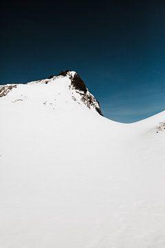 Untersberg   L'hiver dans les Alpes sur Nanda van der Eijk