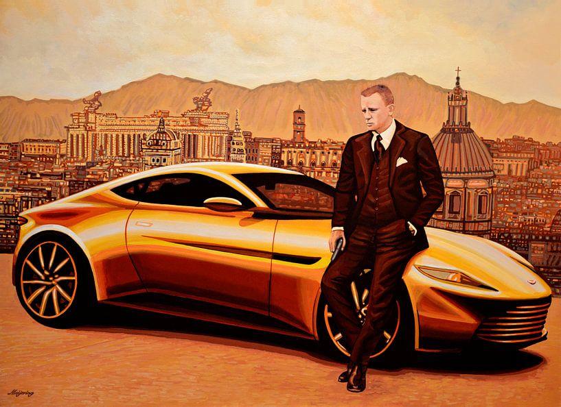 Daniel Craig in SPECTRE als James Bond van Paul Meijering