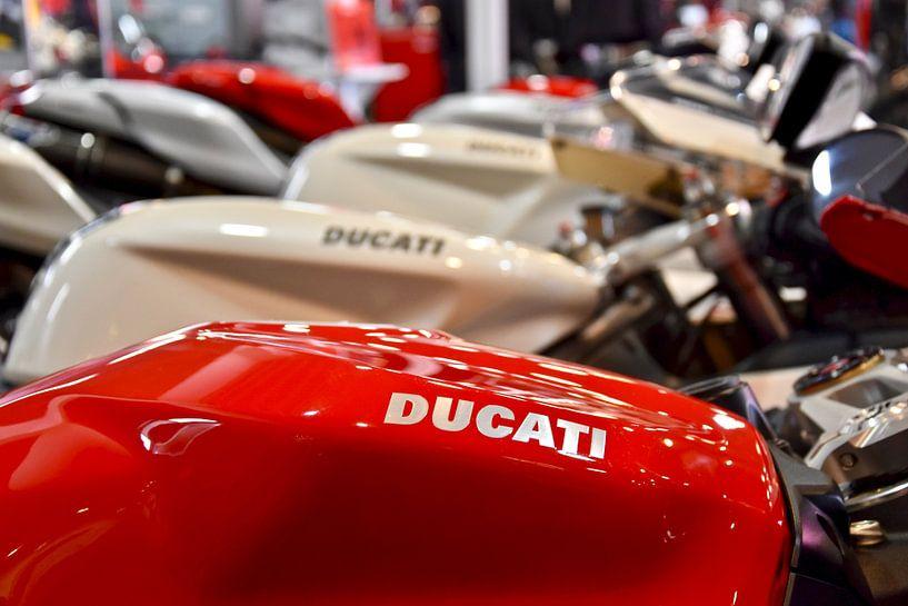 Ducati motorfietsen van Jan Radstake