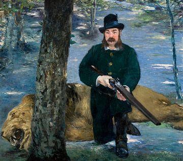 Herr Eugène Petuiset, der Löwenjäger, Édouard Manet