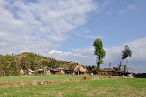 Himalaya bergdorp