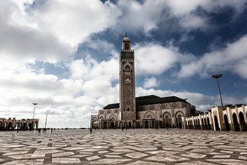 Die Hassan II. Moschee ist eine Moschee in Casablanca, Marokko. von Tjeerd Kruse