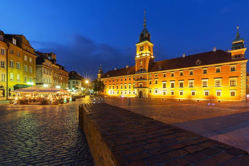 Château de Varsovie et place du château sur Frank Herrmann