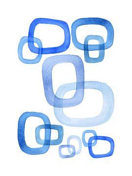 Gemeinsam stark / Sich blau fühlen Serie 2 von 4 von Natalie Bruns