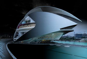 Calatrava's Opernhaus in Valencia von Rene Siebring