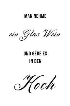 Wein für die Köch(in) von Felix Brönnimann
