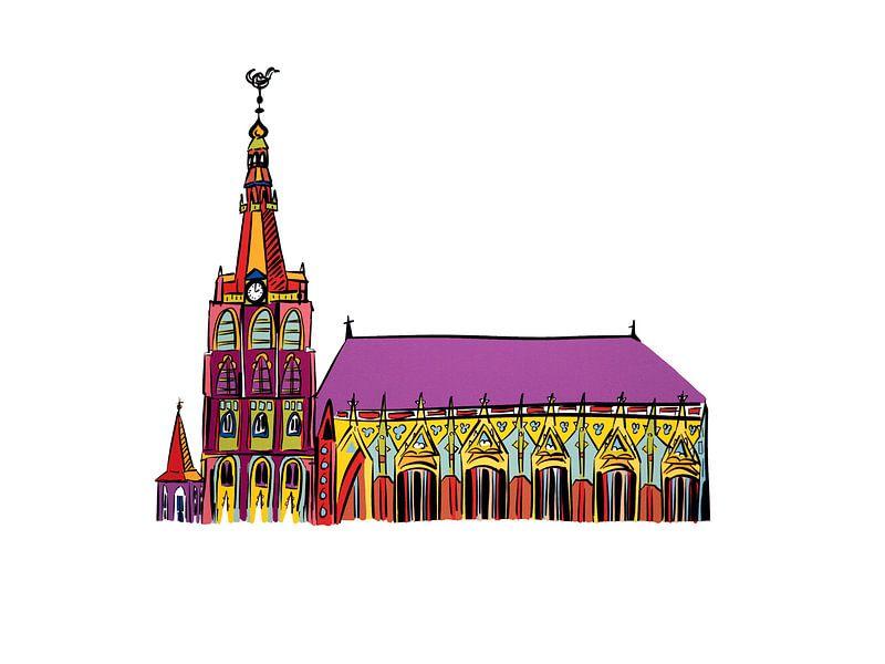 St. Johannes-Kathedrale von Teun Poppelaars