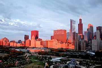 'Ochtendlicht', Chicago van Martine Joanne