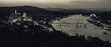 Panorama Boedapest van Márton Gutmayer