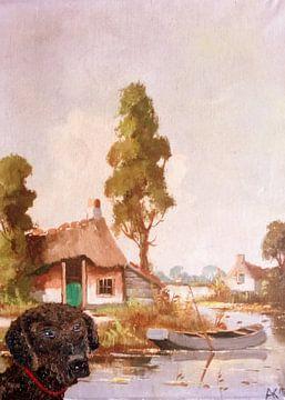 At the Boat von Aat Kuijpers