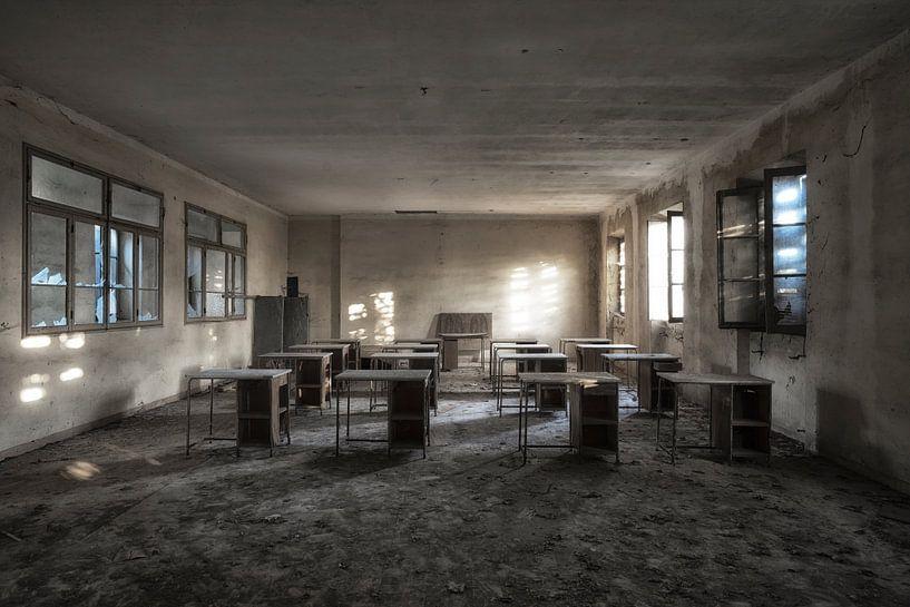 Schulbank 3 von Kirsten Scholten