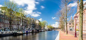 Nieuwe Keizersgracht, Amsterdam (kleuren uitvoering) van Tony Buijse