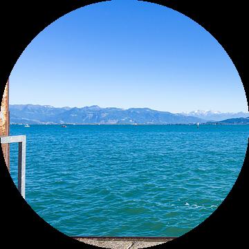 Looking over Lake Constance van Ullrich Gnoth