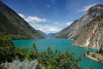 Canada turquoise meer van Menno Schaefer