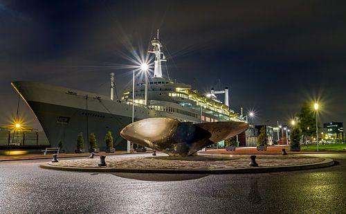 Het SS Rotterdam van