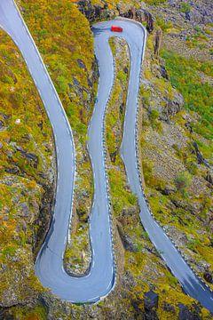 Trollstigen bergwerg, Møre og Romsdal, Noorwegen van Henk Meijer Photography