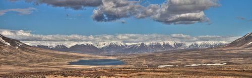 Small Lake & Snowy Mountains