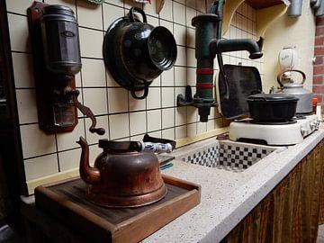 oude keuken jaren `60 - `70 van Joke te Grotenhuis