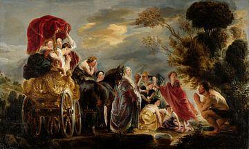 Das Treffen von Odysseus und Nausicaa, Jacob Jordaens