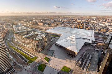 Centraal station Rotterdam van Prachtig Rotterdam
