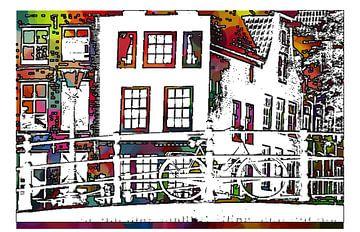 Amsterdamse Gracht van MY ARTIE WALL