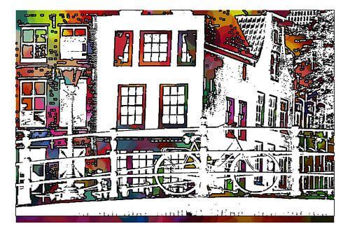 Amsterdamse Gracht von MY ARTIE WALL