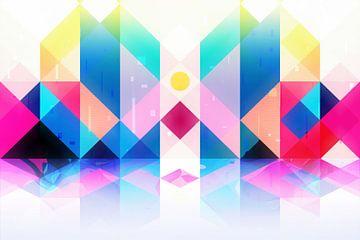 Geometrische XXXXXV van Tenyo Marchev