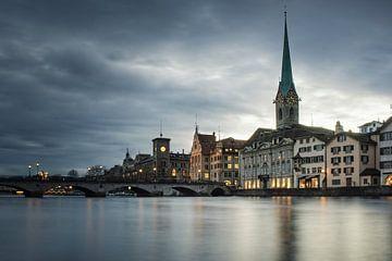 Zürich: Fraumünster sur Severin Pomsel
